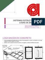losas - sistemas estructurales