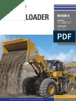 Catálogo Cargador Frontal WA500 6 Inglés Digital