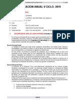Planificacion Curricular 5º - 2019