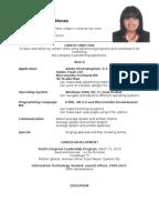 resume sample resume format sample resume resume mohd rizal 17770112