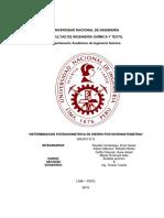 Informe Determiancion de Hierro Por Dicromatometria TERMINADO