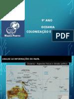 9º Ano - Aulas 01 e 02 - Oceania - EE Mario Porto