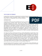 ISOC EFF Future of Privacy Report