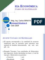 Cla04 - Análisis Unitario Materiales