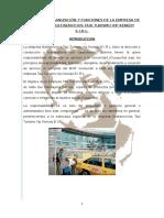 257649140 Manual de Organizacion y Funciones d Ela Empresa de Radio Taxi Multiservicios Taxi Turismo Vip Kenedy e