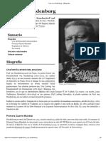 Paul Von Hindenburg - Metapedia