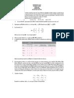 Actividad Álgebra Lineal