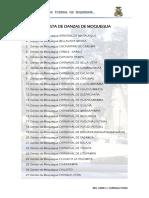 Lista de Danzas de Moquegua