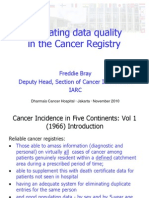 Evaluating Data Quality in the Cancer Registry