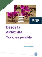 Desde La Armonia Todo Es Posible