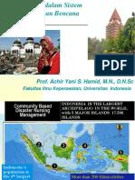 Peran Perawat Dalam Sistem Penanggulangan Bencana