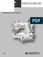 Manual de Serviço Interlock Siruba c007
