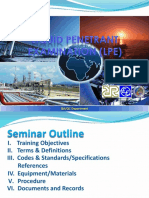 3.Liquid Penetrant Examination Seminar