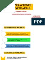 OPERACIONES PORTUARIAS