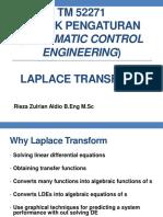 Lecture 3 - Laplace