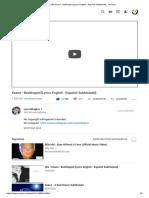(38) Keane - Bedshaped [Lyrics English - Español Subtitulado] - YouTube University