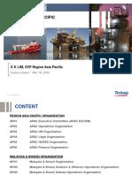APAC, Malaysia and Brunei Organization