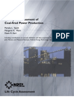 Life Cycle Assessment of Coal-Fired Power Production