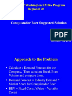 conquistador beer solution.ppt