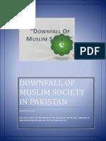 Downfall of Muslim Society in Pakistan