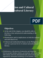 Globalization and Cultural and Multicultural Literacy