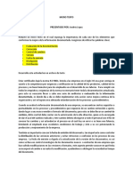 Microtexto Elementos Que Conforman La Mejora de La Informacion Documentada