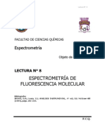 Espectrometría de fluorescencia molecular