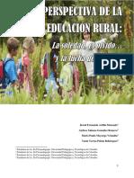 Artículo Educación Rural