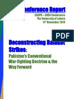 Conference Report CSSPR