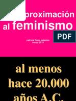 aproximación al feminismo - patricia flores palacios