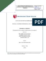 Informe de Auditoria Interna