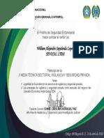 certificado FESEM 2