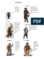 SW PC Species