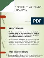 Abuso sexual y Maltrato infantil