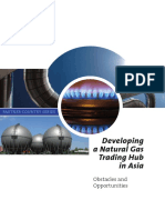 Developing a Natural Gas Trading Hub