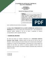 Casacion 2606-2016 Lima Este - Variacion Regimen de Visitas