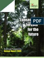 Arannayk Foundation Annual Report 2009
