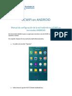 Manual UCWIFI Para Android