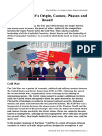 Cold war and its impact