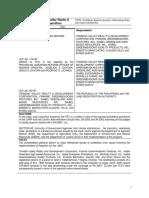 4. DAR v. Trinidad Valley Realty & Development Corporation