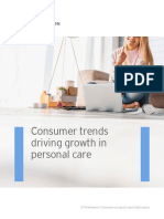 Pey Consumer Trends Driving Growth in Personal Care