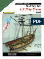 88052 Model Shipways Syren Instructions