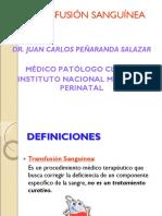 Transfusion Sanguinea Inmp