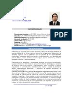 Hoja de Vida -Ing Alberth Pacheco Carrascal
