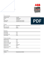 22ERT 1SBN010042R1022 Ca5 22ert Auxiliary Contact Block