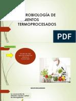Microbiología de Alimentos Termoprocesados