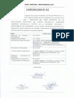 Comunicado LPN13-2019-AFM-CE