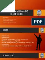 Distancia Minima de Seguridad- Sep