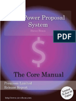 The Power of Proposal System