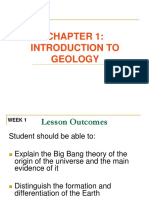 Chapter 1 Introduction to Geology
